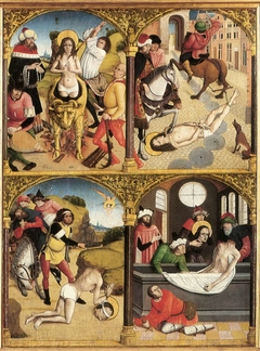 Legend of Saint George (polyptych)