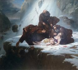 Les Religieux du mont Saint-Gothard