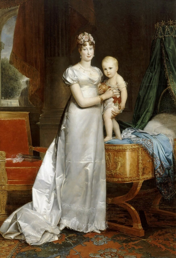 Marie-Louise, Empress of the French, and the Roi de Rome