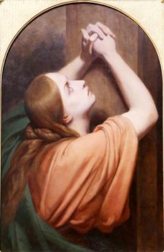 Marie-Madeleine au pied de la croix