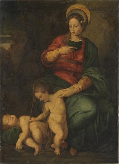 Mary with Child and John the Baptist