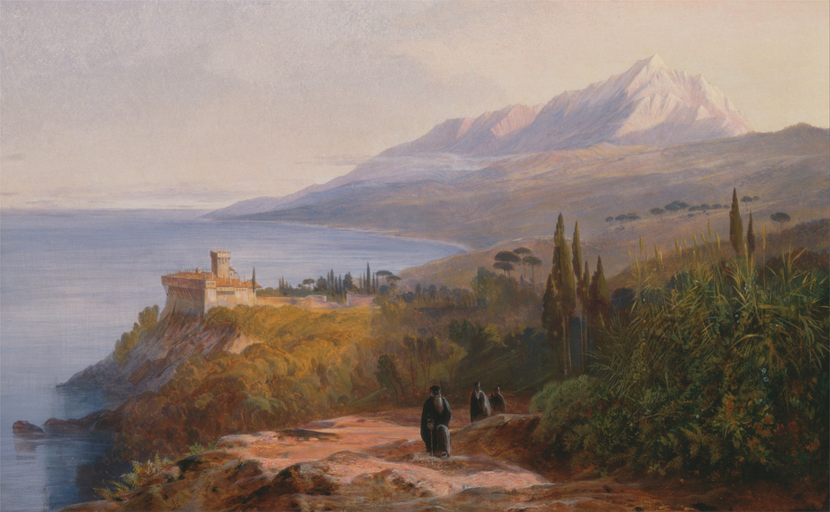 Mount Athos and the Monastery of Stavronikéte