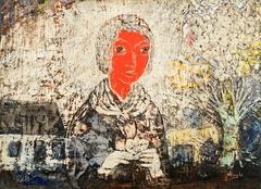 Muchacha Sonrojada - Blushing Young Lady