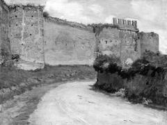 Muren om Rom ved Porta Latina