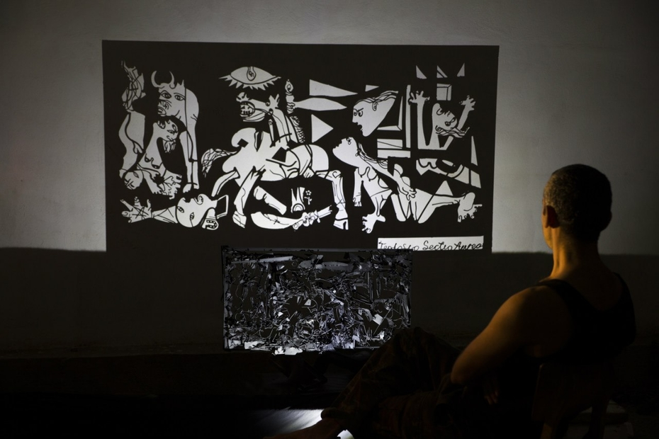 my version of Guernica...shadow art