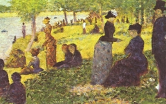 "Oil Sketch for ""La Grande Jatte"""
