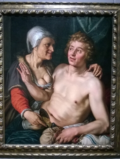 Old Woman with a Young Man