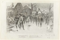 Ontwerp voor illustratie voor De Kolossus der Negentiende Eeuw door P.J. Andriessen (Groot Plaat, blz. 63); scène uit het leven van Napoleon