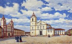 Páteo e Igreja da Sé e São Pedro, 1840