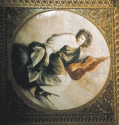 Personification of Music