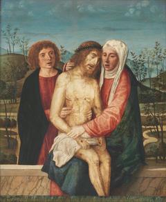 Pietà with Virgin and St. John