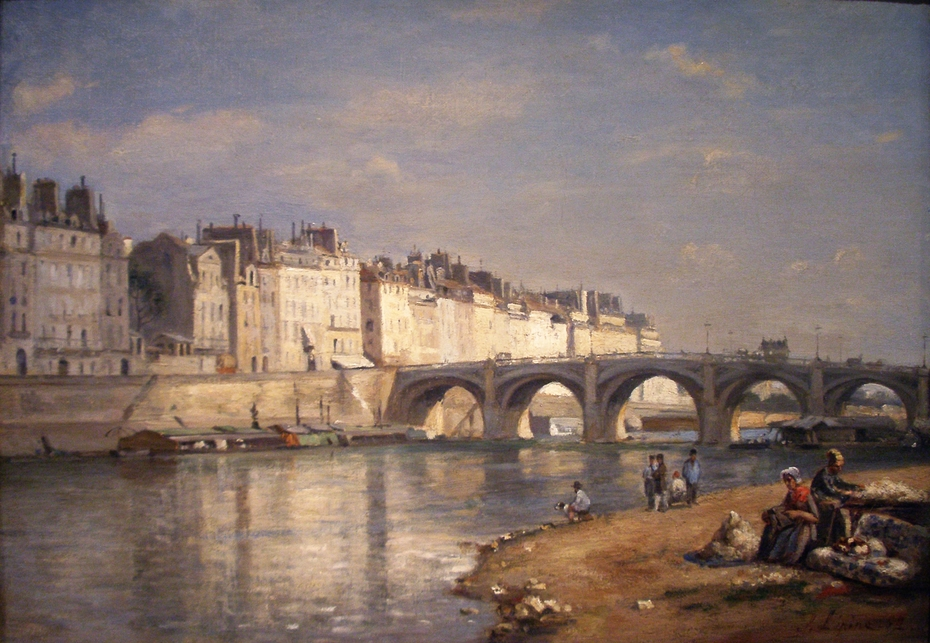 Pont De La Tournelle Paris Stanislas Lepine Artwork On Useum