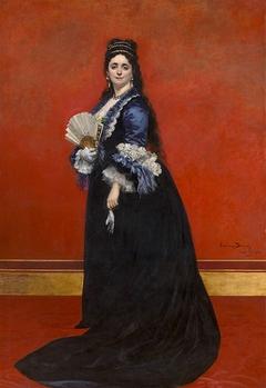 Portrait de Mevrouw de Rute, née Marie Laetitia Bonaparte-Wyse