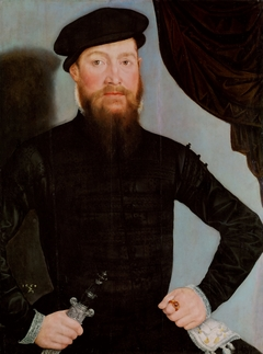 Portrait of a Man in a Beret