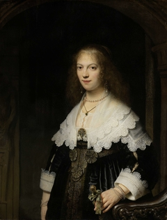 Portrait of a Woman, Possibly Maria Trip