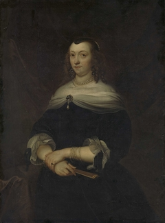 Portrait of a Woman, thought to be Lucretia Boudaen (1616-1663), Wife of Jean Ortt and Second Wife of Christoffel van Gangelt
