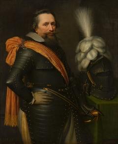 Portrait of an Officer, presumably Anthonis van Utenhoven (d. 1625)