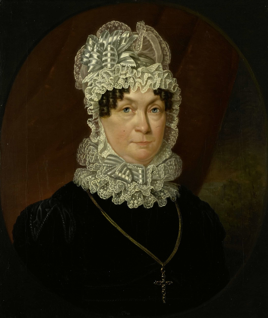 Portrait of Ann Brander (died 1837), Wife of Job Seaburne May