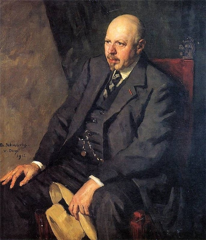 Portrait of Anton Dreesman