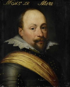 Portrait of Daniël de Hertaing, Lord of Marquette, Governor of Ostend