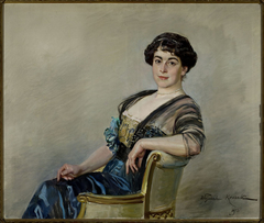 Portrait of Eugenia Jasieńska