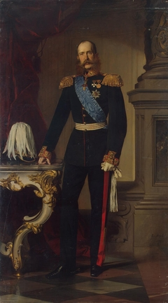 Portrait of Franz Josef I, Emperor of Austria