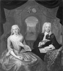 Portrait of Gualterus Petrus Boudaen (1704-1781) and his wife Catharina Margaretha Romswinckel (1704-1750)