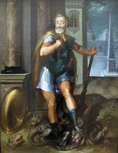 Portrait of Henry IV as Hercules Slaying the Lernaean Hydra