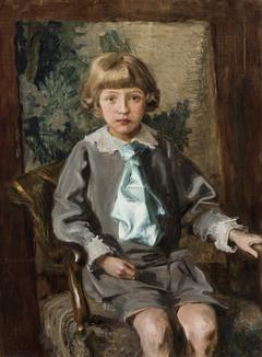Portrait of Iwo Łomiński as a Child
