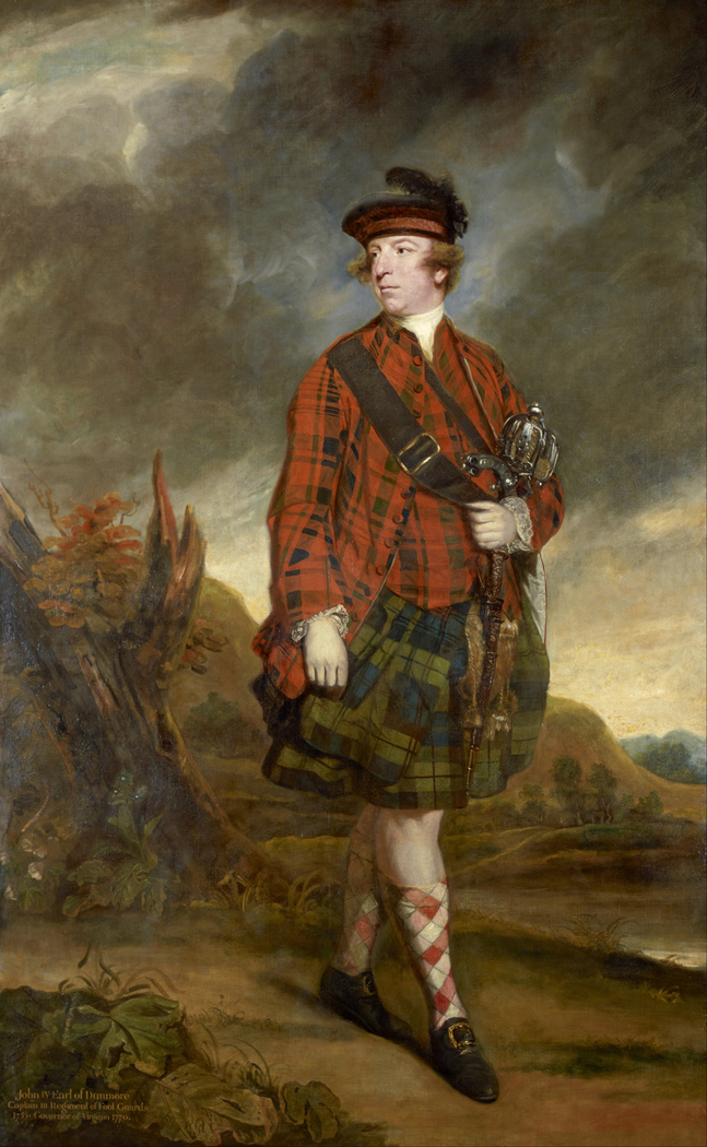 Portrait of John Murray, 4th Earl of Dunmore