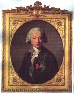 Portrait of Joseph Hyacinthe François de Paule de Rigaud, Comte de Vaudreuil, 1784