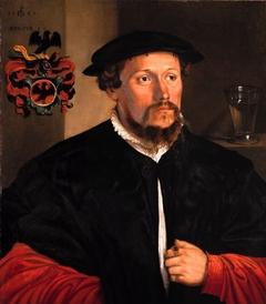 Portrait of Lienhard Hirschvogel