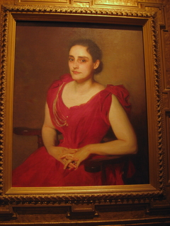 Portrait of Lizzie B. Dewey (Mrs. Francis Henshaw Dewey II)