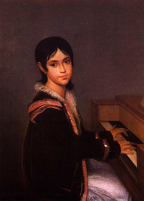 Portrait of Mariana Benedita Sequeira