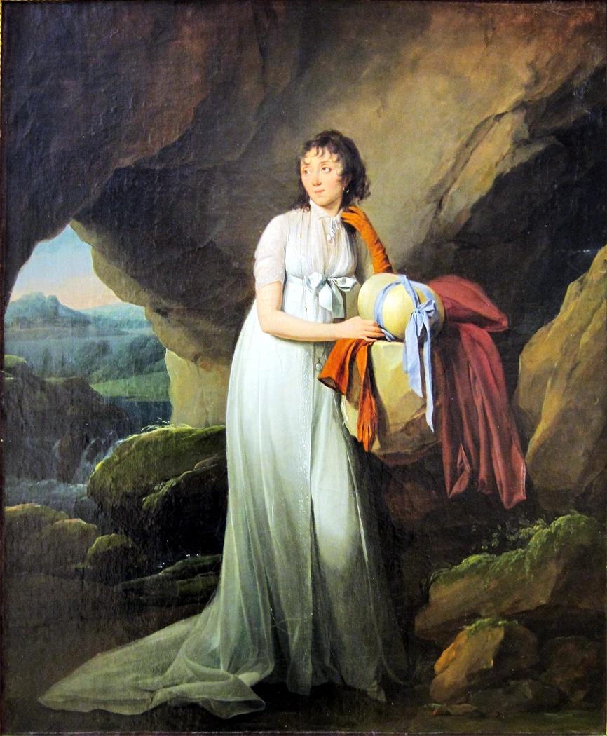 Portrait of Mme d'Aucourt de Saint-Just