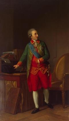 Portrait of Prince Nicolai Saltykov