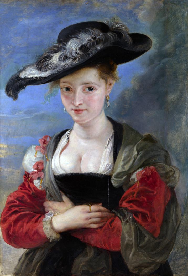 Le Chapeau de Paille (Portrait of Susanna Lunden?)