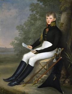 """Portrait of the Military Cartographer F.F.Schubert"""