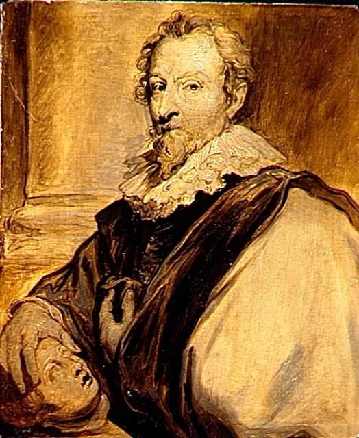 Portrait of the painter Hendrik van Balen
