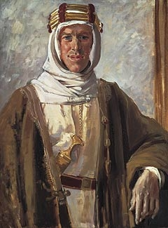 Portrait of Thomas Edward Lawrence - aka Lawrence of Arabia