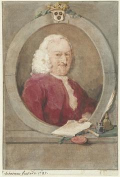 Portret van Pieter van Bleiswijk