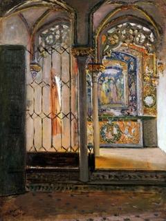 Recuerdo de la Capilla del Alcázar de Sevilla