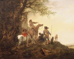 Resting Hunters
