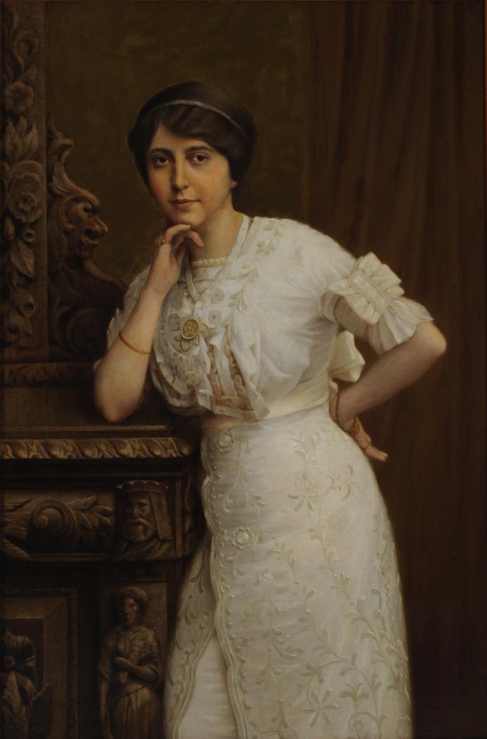 Retrato de Dona Matilde Melchert de Soares