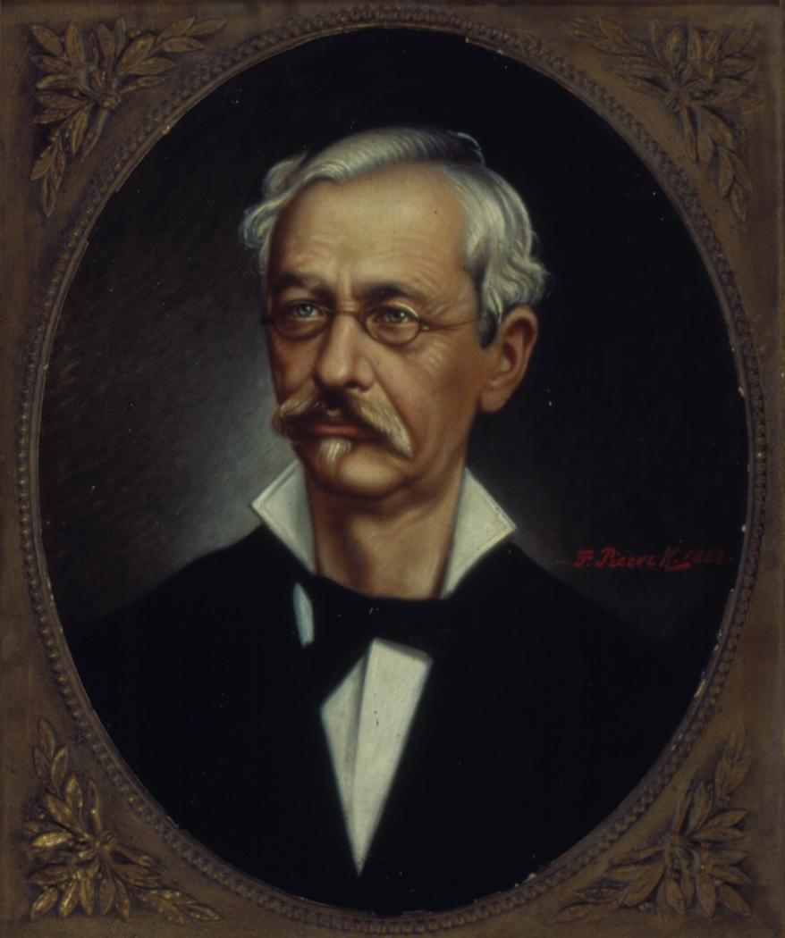 Retrato de Joaquim Roberto de Azevedo Marques, 1882