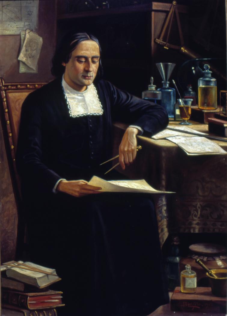 Retrato do Padre Bartolomeu Lourenço de Gusmão