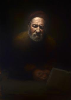 Saint Paul (after Rembrandt)