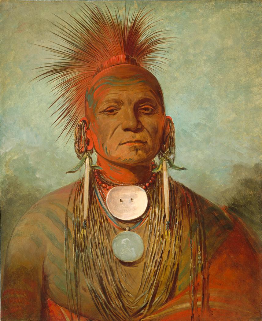 See-non-ty-a, an Iowa Medicine Man
