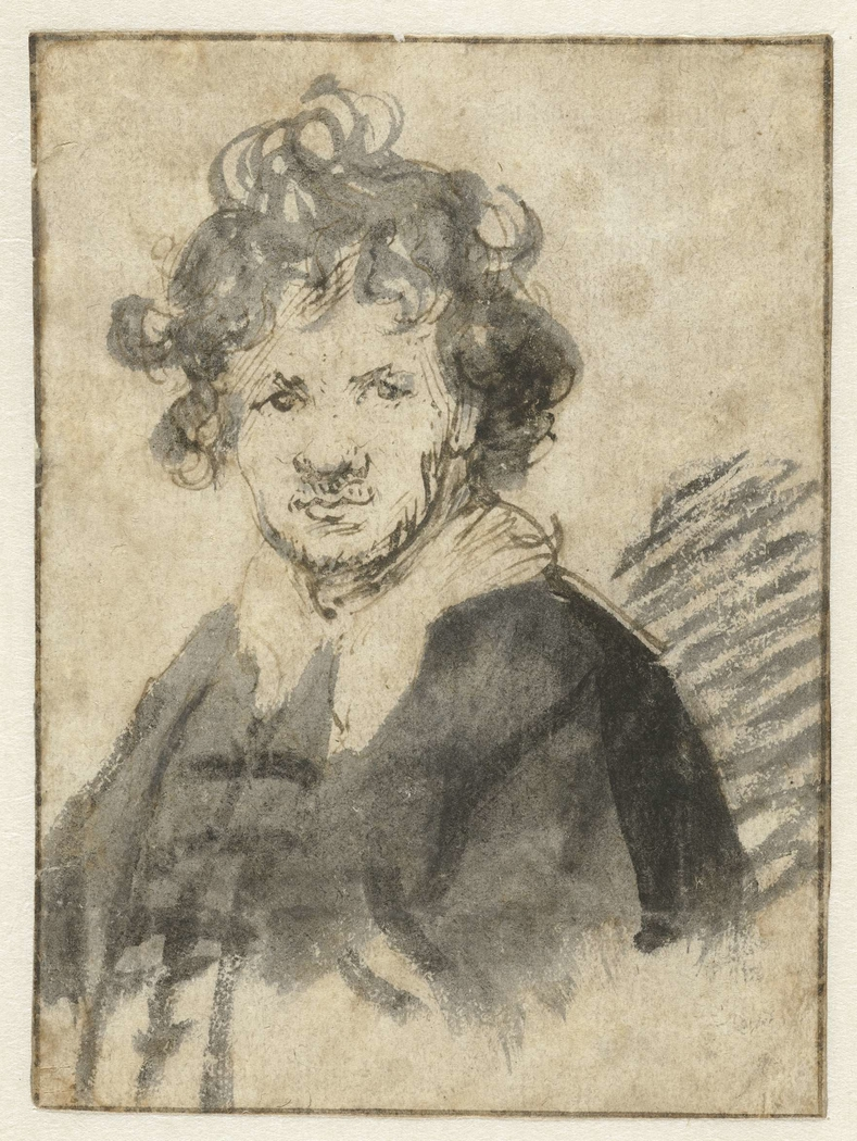 Self-portrait of Rembrandt van Rijn