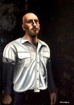 Selfportrait (Self- Illuminated/ Inner Light).